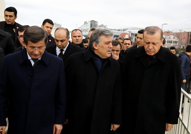 Gül, Erdoğan ve Davutoğlu